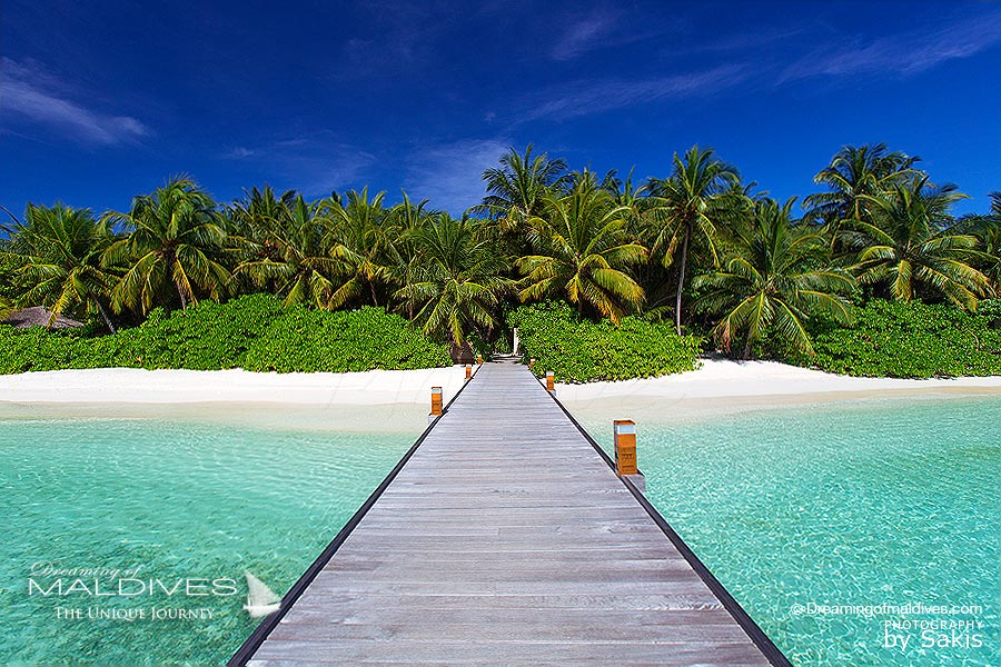 Baros Maldives Jetty