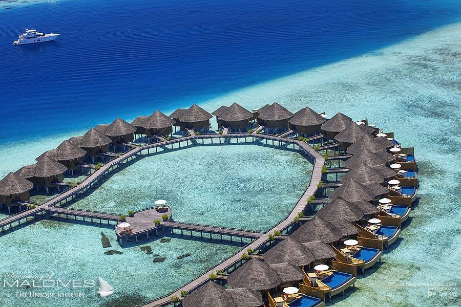 Baros Maldives Island Map