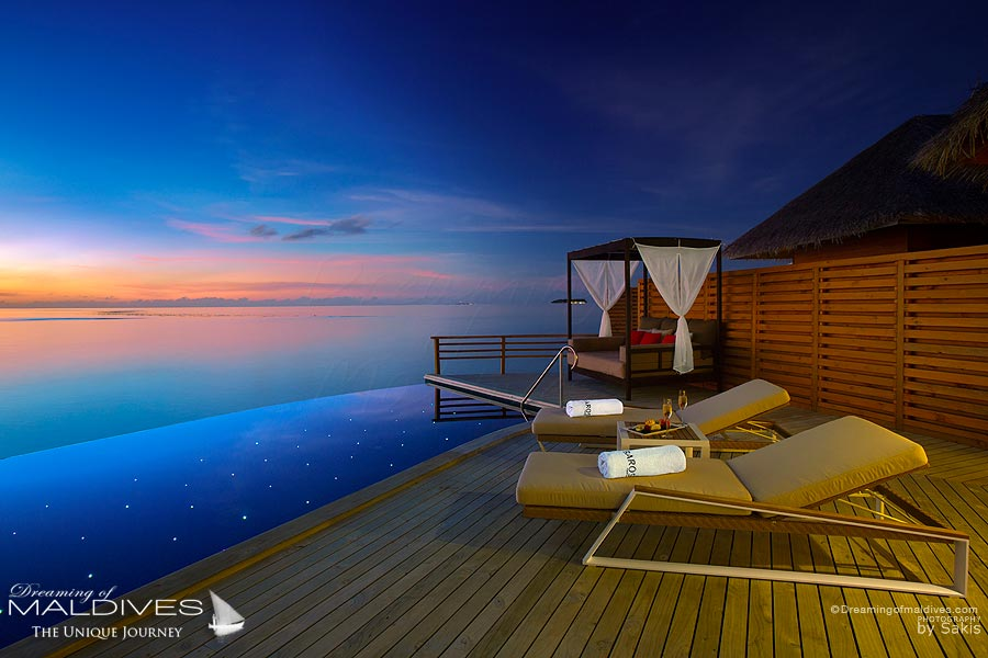 Baros Maldives Baros Water Pool Villa with sunset Views