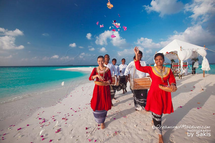 Baros Maldives Wedding Ceremony
