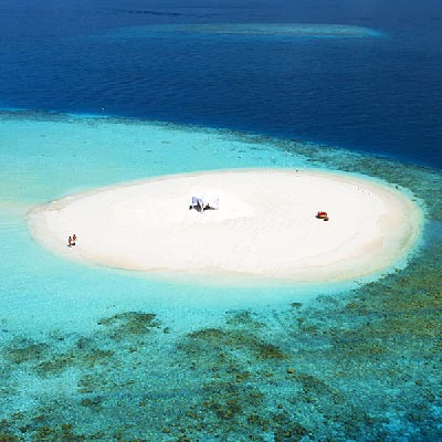 Baros Maldives best Moment and Place Sandbank Experience