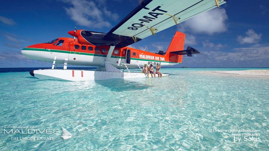 Louer un Hydravion pour un tour des Iles