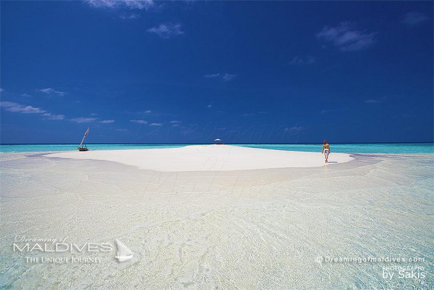 40 Choses à Faire aux Maldives. Se Perdre sur un Banc de Sable au Milieu de Nulle Part