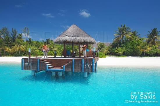 Anantara Dhigu Maldives Votre Arrivée sur l'ile, la jetée principale