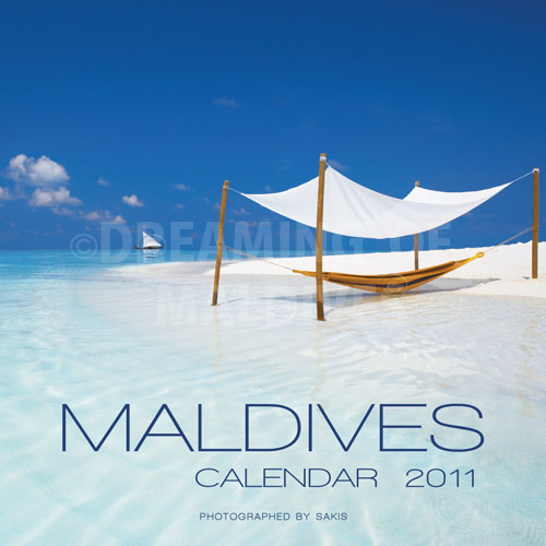 Calendrier mural 2011 des Iles Maldives