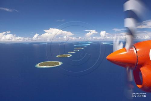 Survolez et découvrez les Maldives en 15 photos aériennes