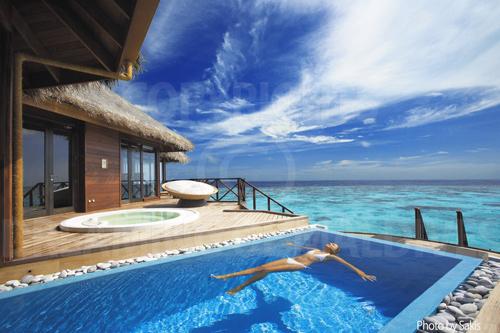 Huvafen Fushi Maldives Water Villa