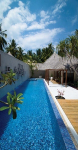 Kuramathi Honeymoon Villas. Piscine