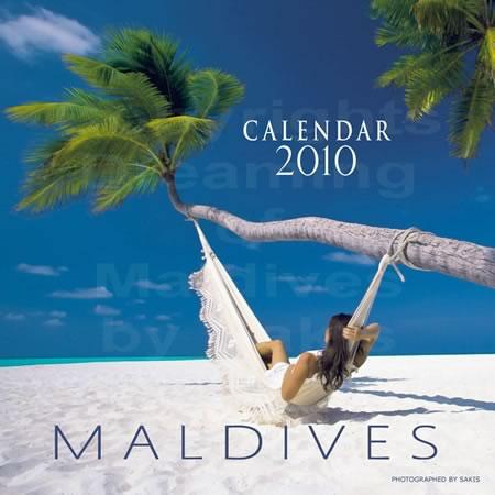 Calendrier mural 2010 des Maldives