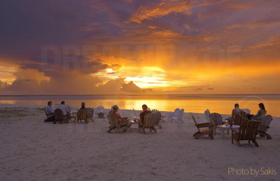 A l 39 heure du coucher de soleil aux maldives - Heures coucher du soleil ...