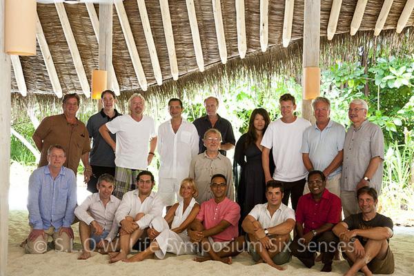 acteurs intervenant au seminaire SLOW LIFE pour lenvironnement au soneva fushi Maldives