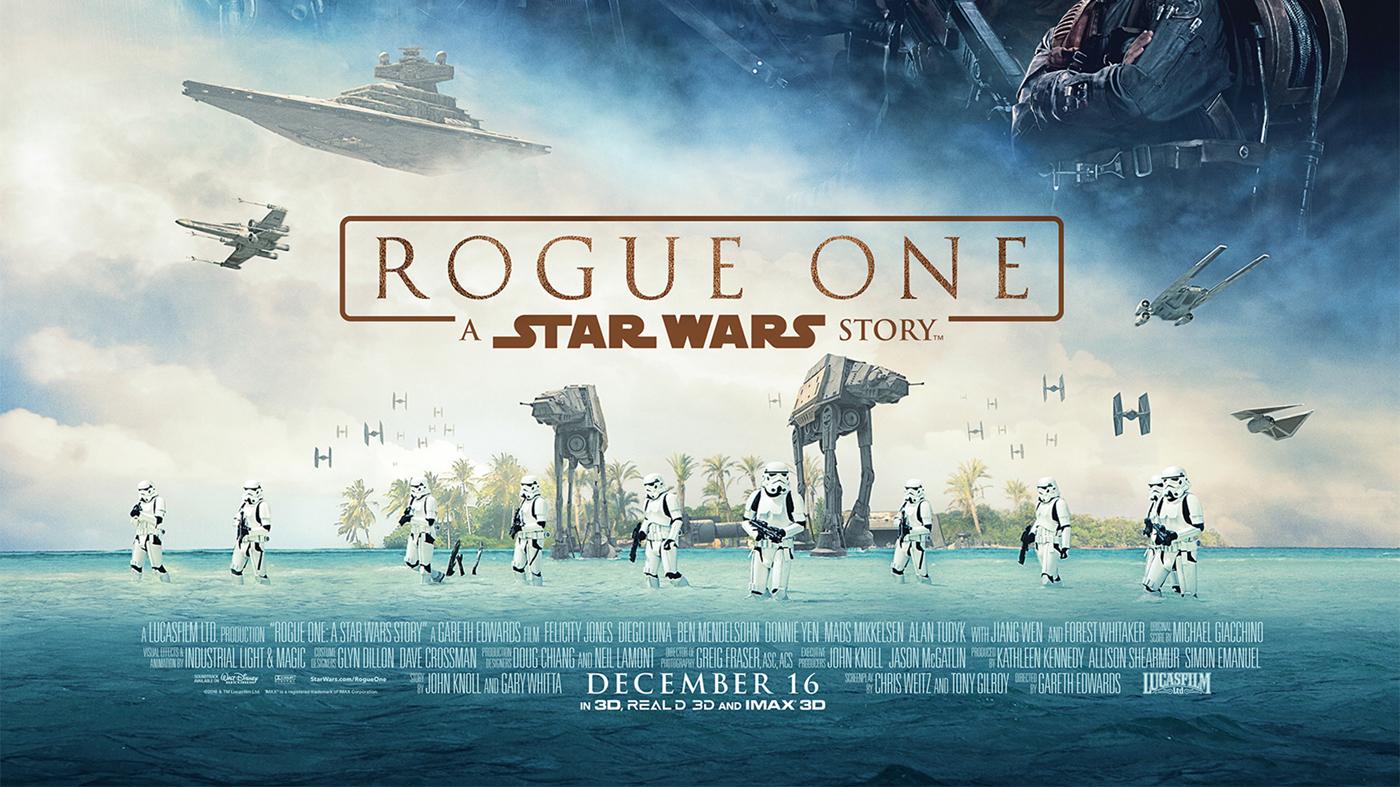 Star wars Rogue One filmé aux Maldives pour le tournage de Scarif