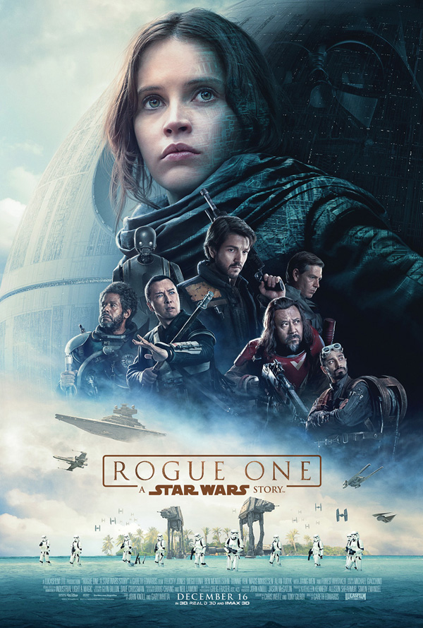AFFICHE OFFICIELLE du film STAR WARS ROGUE ONE