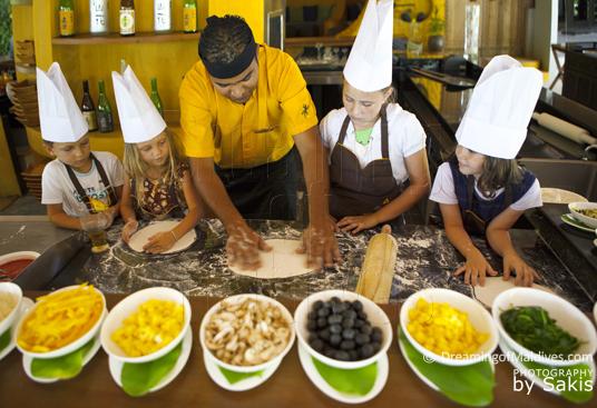 Anantara Dhigu Maldives, Cours de Cuisine pour les enfants