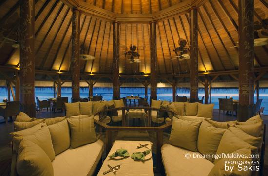 Anantara Dhigu Maldives, Le restaurant Thai Baan Huraa