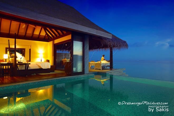 Anantara Kihavah Maldives meilleure villa sur pilotis maldives
