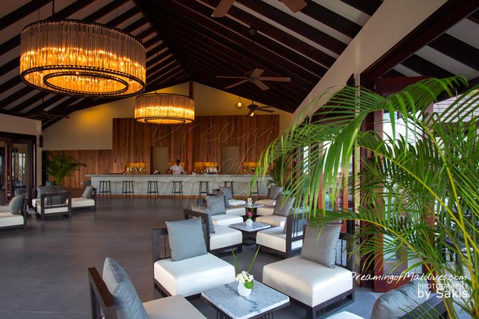 Atmosphere Kanifushi Maldives - Le Bar, vue intérieure