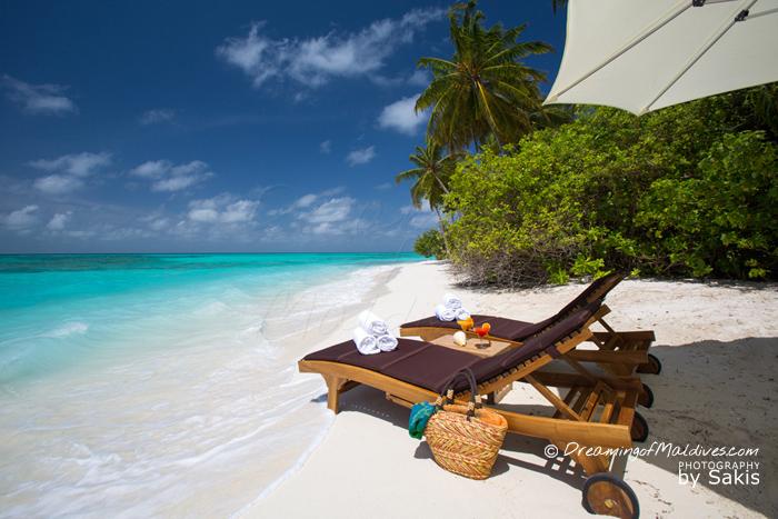 Atmosphere Kanifushi Maldives - La Plage de l'Hôtel