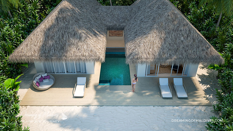 Ouverture Hotel Baglioni Resort Maldives ( Atoll de Dhaalu ). Ouverture le 1er Août 2019