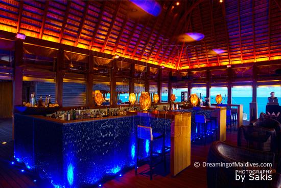 W Retreat and Spa Maldives - Bar Lounge SIP avec DJ