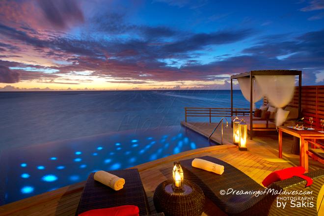 Baros Maldives meilleure villa sur pilotis maldives