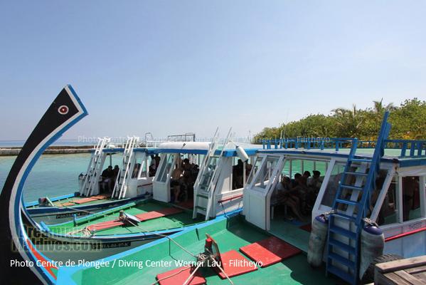 Les bateaux de plongée du centre | Filitheyo