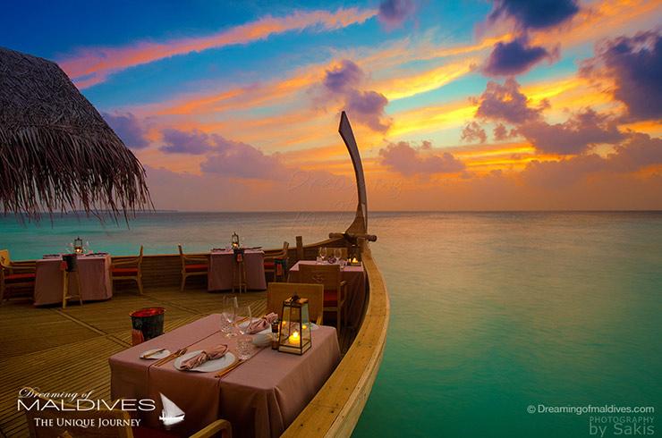 10 Lieux Extraordinaires À Voir Aux Maldives milaidhoo restaurant ba'theli