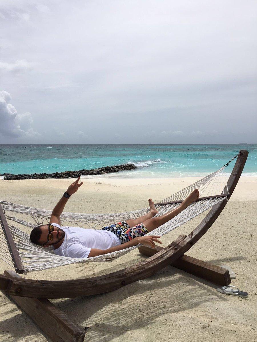 Karim Benzema en vacances aux Maldives pendant l'Euro 2016. Son Hôtel et ses Photos