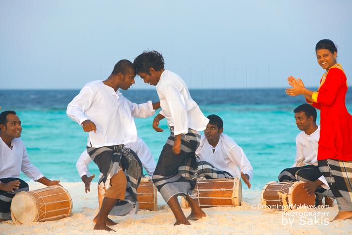 Photo Du Jour : Au son des Bodu Beru Maldiviens