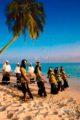 Musique -Bodu Beru- et danse traditionnelle -Bandiyaa- aux Maldives
