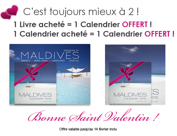 Bonne Saint Valentin 2012 ! Offre Speciale Maldives