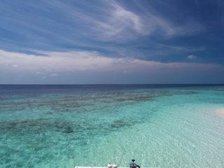 Maldives Photo Du Jour : Brunch avec Vue de Rêve
