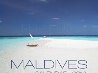 calendrier 2012 des Iles Maldives