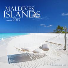 Calendrier 2013 des Iles Maldives