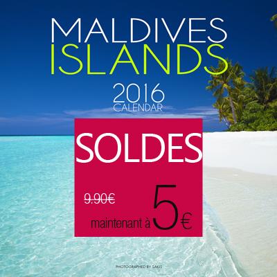 calendrier 2016 iles maldives