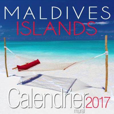Calendrier Mural 2017 des Maldives