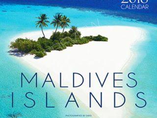 Calendrier mural 2018 de Photos des Iles Maldives. 13 photos . 13 mois