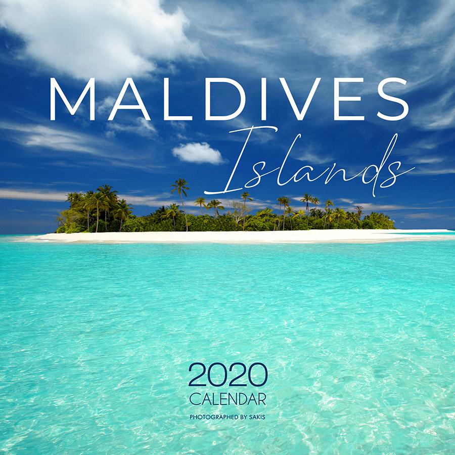 calendrier 2020 de photos des Iles Maldives