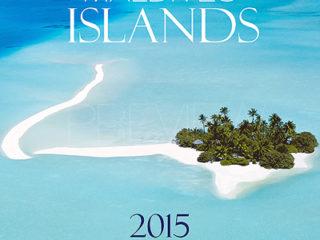 calendrier 2015 Mural Iles Maldives