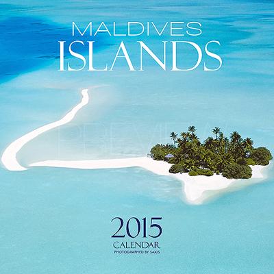 Calendrier 2015 Mural des Iles Maldives