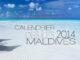 Calendrier Mural 2014 des Iles Maldives