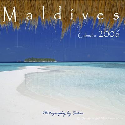 Calendrier mural des Iles Maldives   Edition 2006