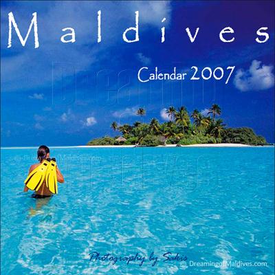 Calendrier mural des Iles Maldives   Edition 2007