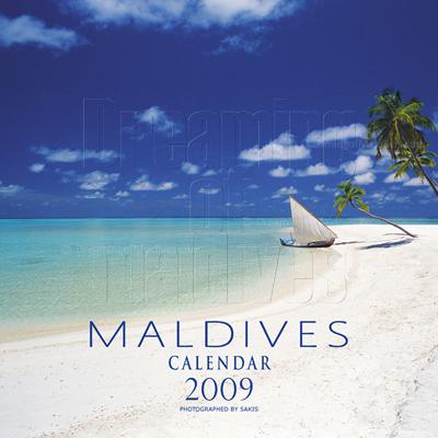 Calendrier mural des Iles Maldives   Edition 2009
