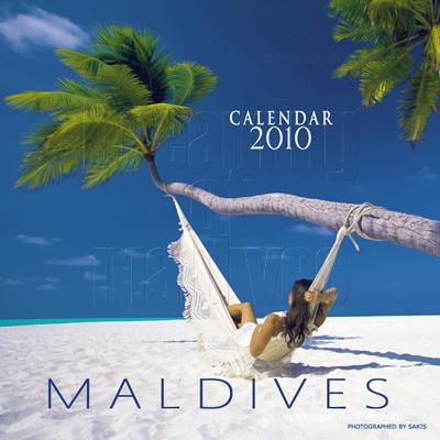 Calendrier mural des Iles Maldives   Edition 2010