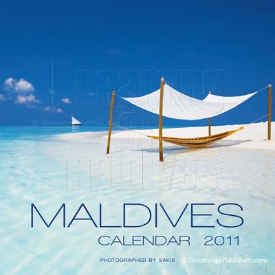 Calendrier mural des Iles Maldives | Edition 2011