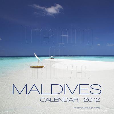 Calendrier mural des Iles Maldives   Edition 2012