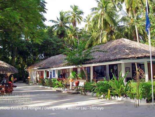 Le centre de Plongée de Filitheyo Maldives