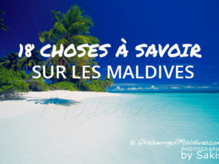 D'anciens volcans écroulés, en passant par des coquillages servant de monnaie aux poissons produisant 1 tonne de sable par an, découvrez 18 choses intéressantes et méconnues sur les Maldives.
