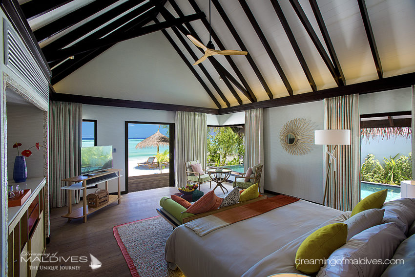 Earth Villa Sur Plage OZEN at Maadhoo Le premier Hôtel Tout Inclu Ultra Luxueux des Maldives